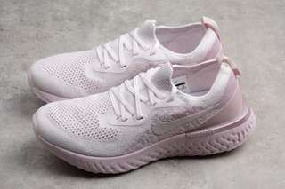 Nike Shoes Nike Epic React Flyknit 編織面透氣 超級跑步鞋 立體LOGO 飛線針織鞋面  尺碼:36 36.5 37.5 38 38.5 39