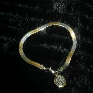 Two-tone Bracelet (gold and silver)