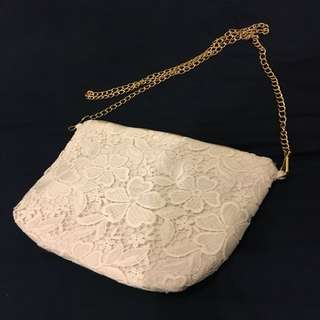 Flower Lace Sling Bag