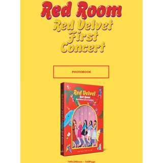 【Korea Buying Service 5/25-6/3】Red Velvet First Concert Red Room Photobook