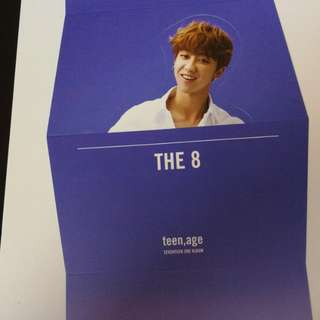 The8 standee seventeen teen age rs ver