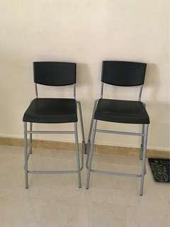 Bar top chair