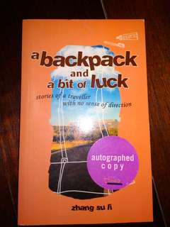 A Backpack and a Bit of Luck