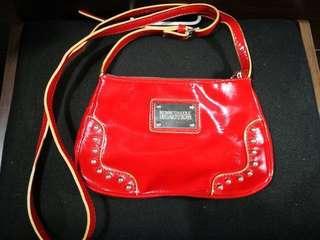 Kenneth Cole Shoulder Bag/Purse - Red (Original)