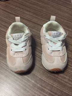 Pink shoes for baby toddler converse