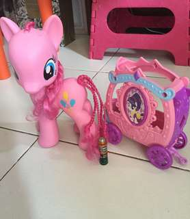 Big My Little Pony with Free MLP Carriage