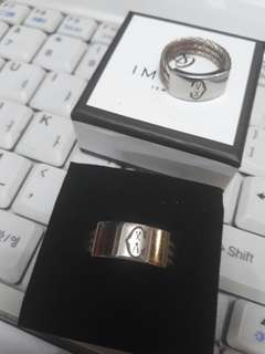 Charriol couple ring size 6 &10