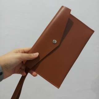 Custom Made Leather Pouch