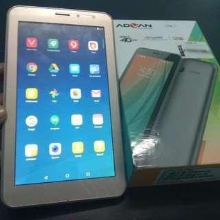 tablet advan i7a sudah 4G LTE like new