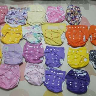Cloth diapers (girls color)