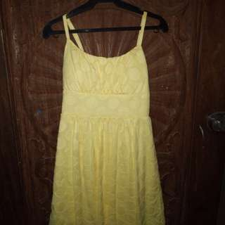 YELLOW SUMMER DRESS FROM BSMART