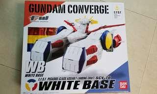 Bandai Gundam Converge White Base 限量版連Core:V 人仔