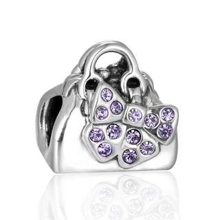 Code S49, Lady Handbag 100% 925 Sterling Silver Charm compatible With Pandora
