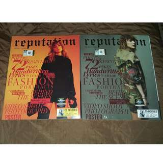 Taylor Swift - 1 Set Reputation Magazines
