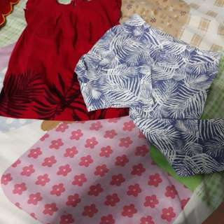Poney Red Blouse and Leggings