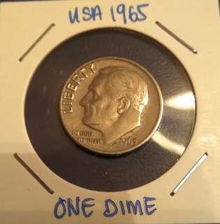 One Dime USA 1965