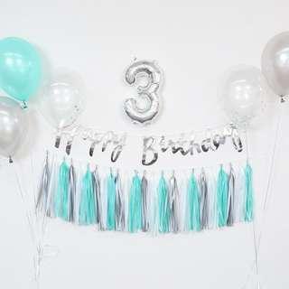 Happy Birthday Banner Bunting