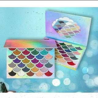 Mermaid Glitter Eyeshadow Palette