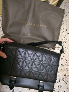 Charles & Keith handbag (Black)