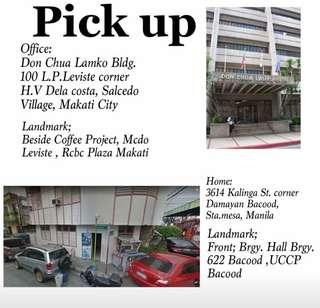 For Pick up sa Bahay ❤️