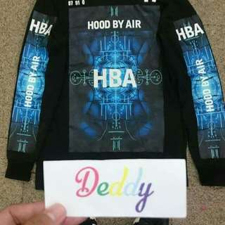 Hood by air time machine long sleeve