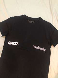 Wednesday x Quasi- Shirt