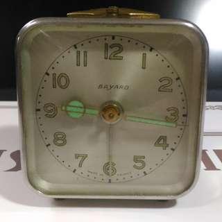 1922,法國 BAYARD 旅行鬧鐘