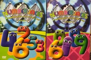 DVDs - Number Jacks