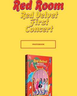 [PREORDER] RED VELVET - RED ROOM (RED VELVET FIRST CONCERT)