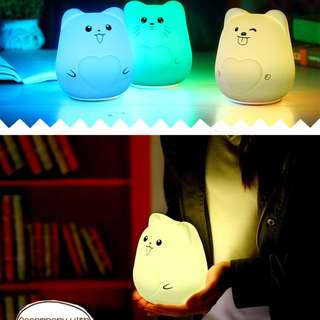 LED Night Lamp - Squishy and Soft