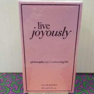 Philosophy Live Joyously 60mL