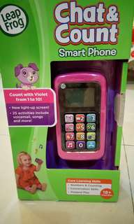 Leap Frog Chat&Count Smart Phone toy
