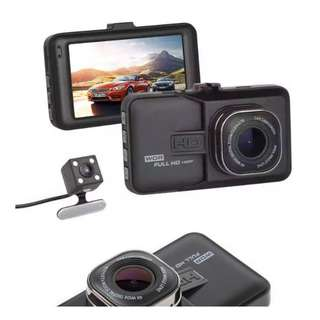 BRAND NEW DUAL Car Dash Camera HD