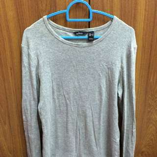 MANGO Grey Long Sleeve Top