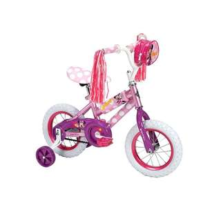 Huffy Minnie Mouse Girls' Bicycle for Kid with FREE set Helmet & Knee Pads