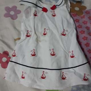 Jack and teddy white dress
