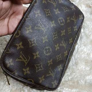 Authentic Louis Vuitton Monogram Small Pouch Bag