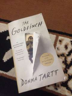 The Goldfinch (winner of the Pulitzer price)