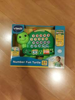 Pending mailing: New- Vtech Number Fun Turtle
