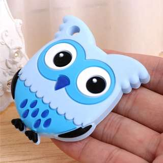 Blue owl teether silicone food grade