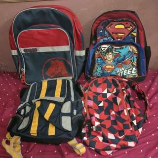 Backpacks and Sling Bags