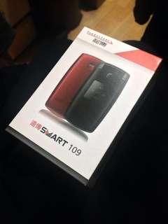 全新未拆封~遠傳Smart 109 黑色 老人機 摺疊手機