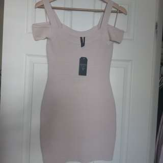 Guess bandage dress medium