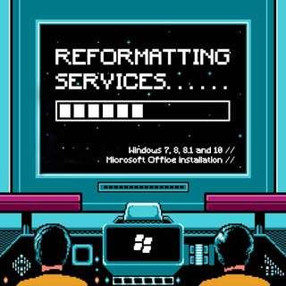 PC REFORMATTING + INSTALLATION