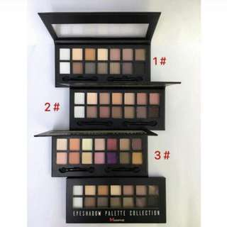 Morphe eyeshadow palette collection