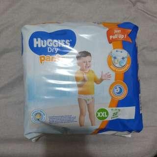 Sealed Huggies Dry Pants XXL