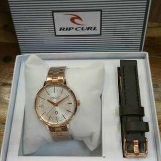 Jam tangan ripcurl rosegold