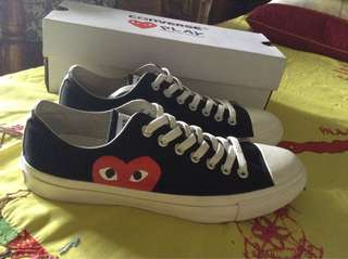 Converse CDG Black/White Sneakers STEAL