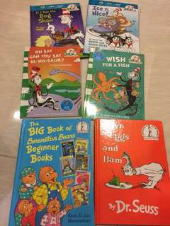 "20% off listing price - ALL ""Cat in The Hat"" books"