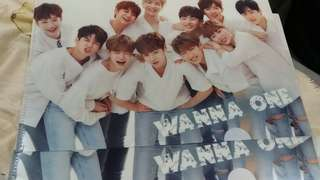 【Wanna One】Yes A4file文件夾